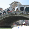 Rialto Bridge on the water taxi