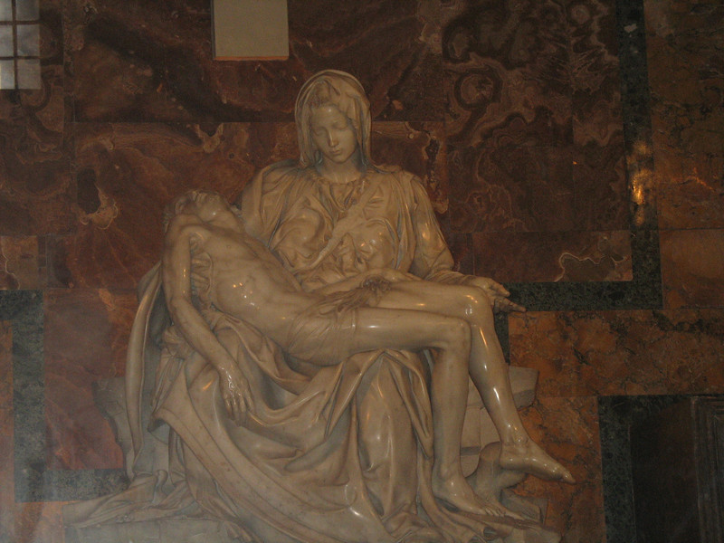 Michangelo's Pieta now behind bullet proof glass