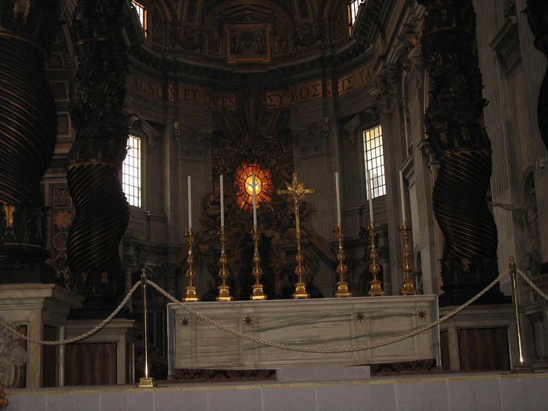 St. Peter's altar