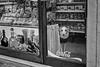 Four-legged shop keeper, Venice, Italy
