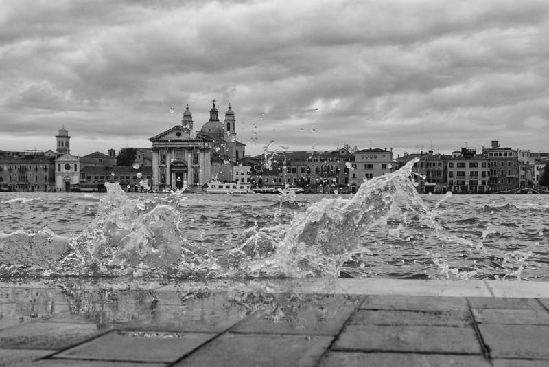 Crashing Waves, Venice, Italy