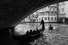 Under the bridge, Venice, Italy