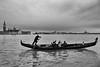 Row your boat, Venice, Italy