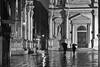 Walking in the rain, Venice, Italy