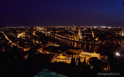 Verona from Castel San Pietro First place, Scenic color prints, CCOR Salon 2015
