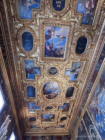 Ceiling artwork, Doges' Palace