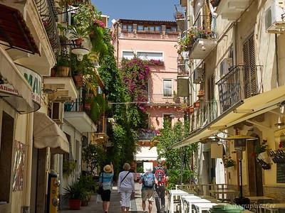 Strolling Taomina, Sicily