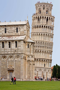 The Leaning Tower of Pisa copy