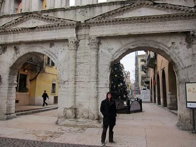 Roman gates in Ferrara