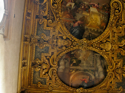 Tintoretto's annunciation