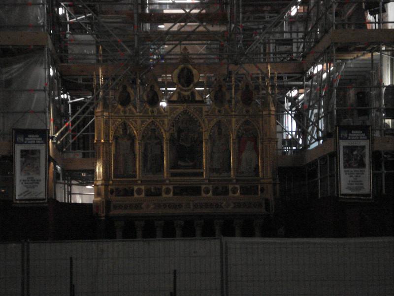 Alter through the scaffolding