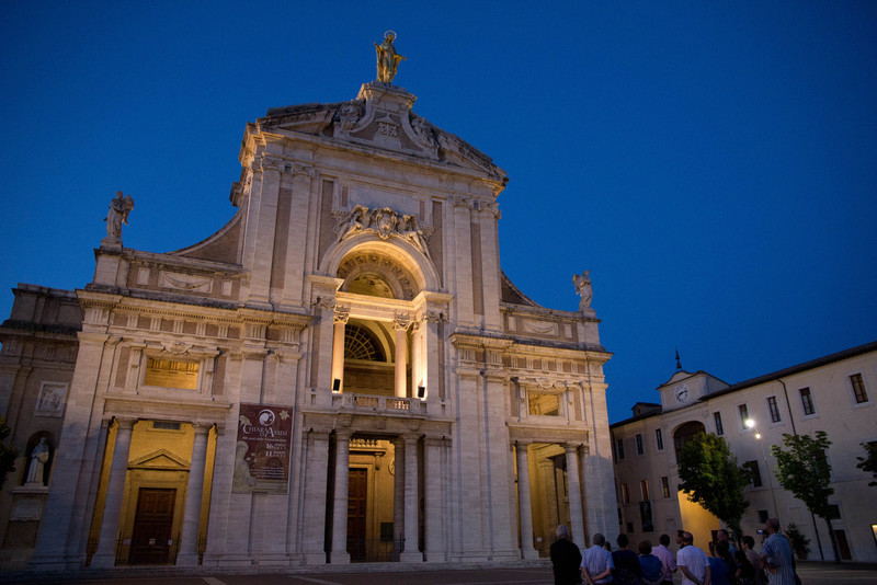 Basilica of Santa Maria degli Angeli (Saint Mary of the Angels), Assisi