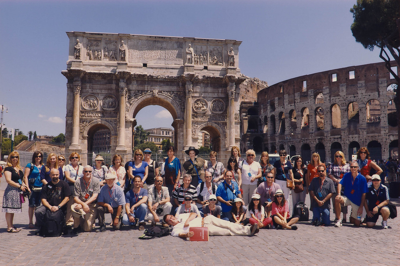 Arch of Constantine, Rome (Scanned in Group Picture)
