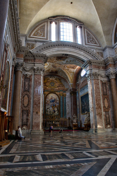 The Basilica of St. Mary of the Angels and the Martyrs, Rome