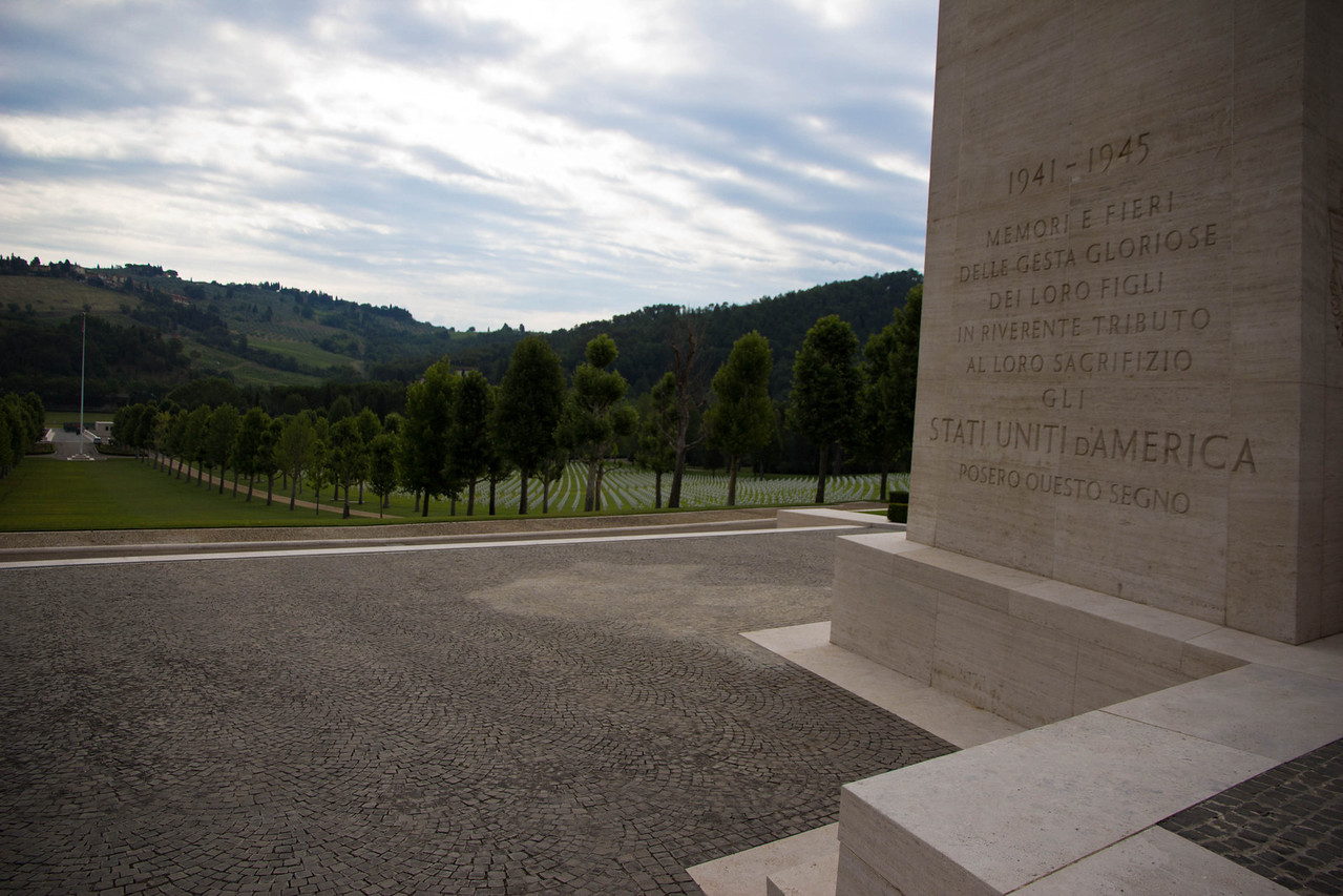 FLORENCE AMERICAN CEMETERY AND MEMORIAL