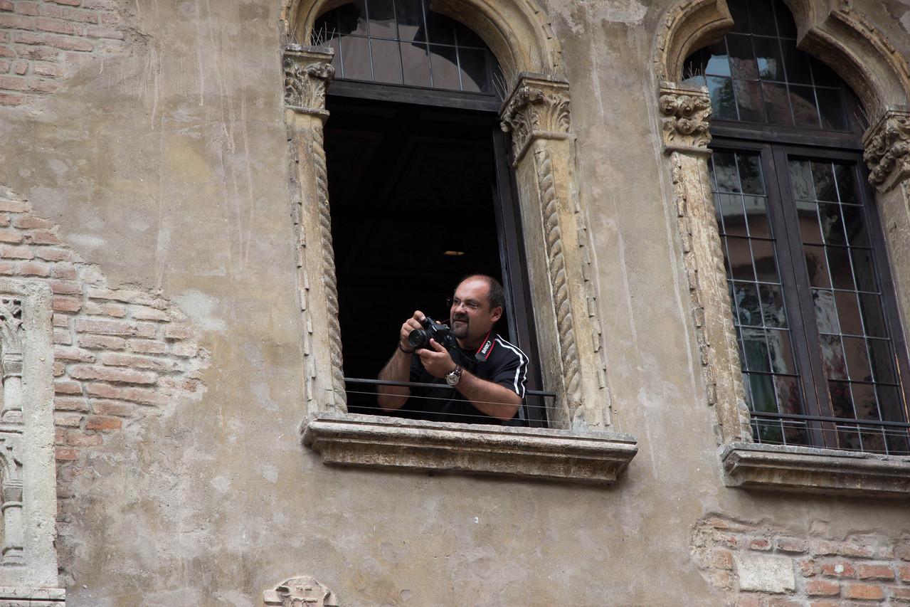 Juliet's House in Verona, Italy