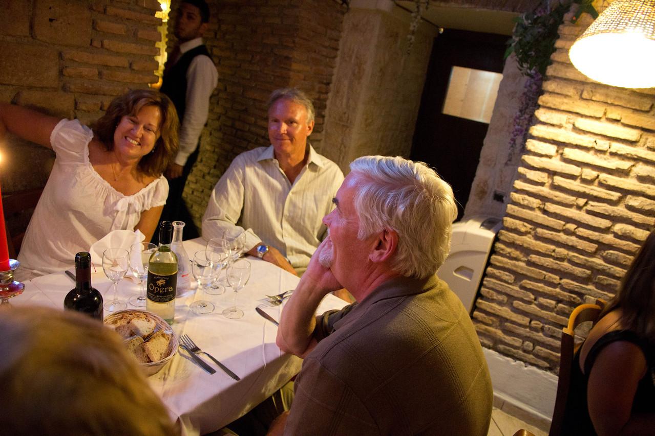Farewell Dinner in Rome, Italy