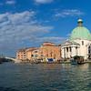 Looking at San Simeone Piccolo- AKA San Simeone e Giuda from accross The Grand Canal