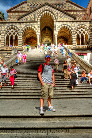 Yes, that is me in Amalfi.  Loved it.  I can't wait to go back.