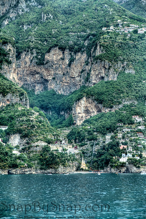 Amalfi Coast in HDR
