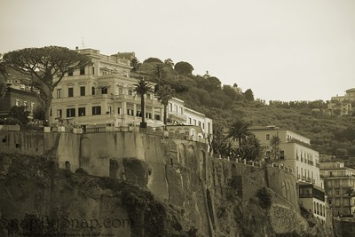 Sorrento in Sepia