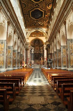 Inside St. Andrew Church