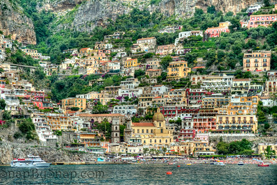 Positano in HDR