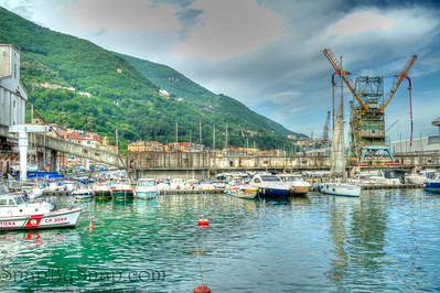 The hobor at Castellammare di Stabia