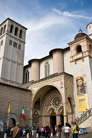 The Lower Basilica of San Francesco