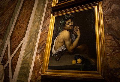 The Young Sick Bacchus by Caravaggio (Self Portrait) 1593