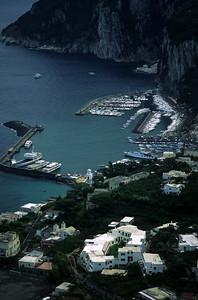 Capri Island  in Italy