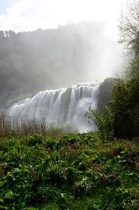 The Marmore Falls in Umbria