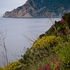 On trail from Vernazza to Monterosso, Italy