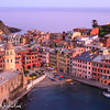 Late sunset view of Vernazza