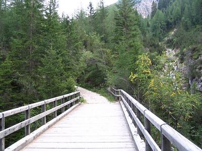 Cortina - A bike ride  8/30/2004