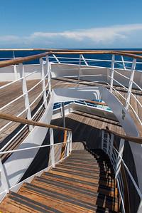 On board the Aegean Odyssey