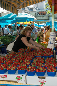 Market in Split
