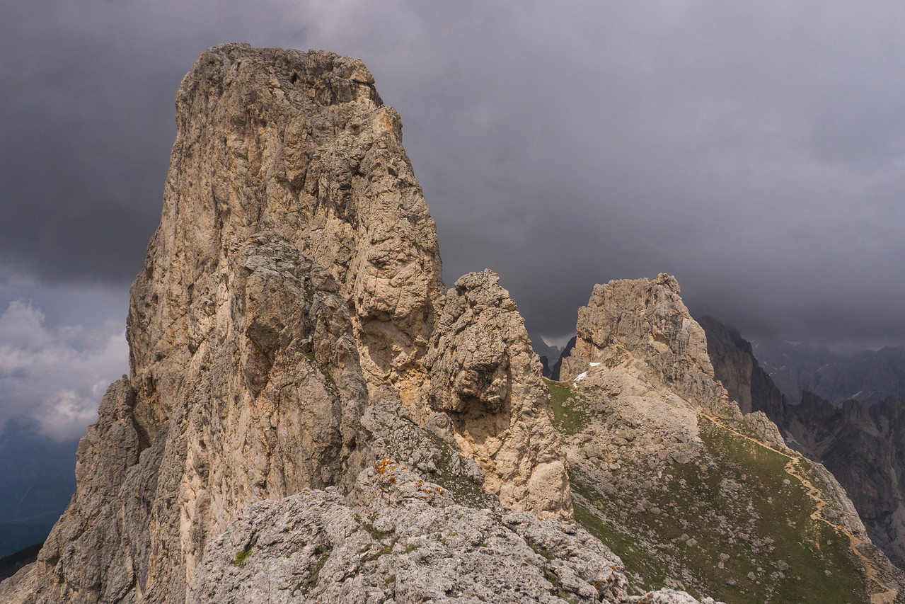 Ferrata Masarè in the Dolomites