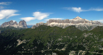 View from the Marmolada