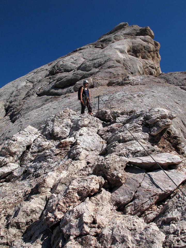 Ascending Marmolada