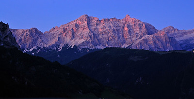 In the Dolomites