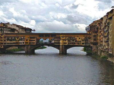IMG_0644 Bridge full of shops - Ponte Vecchio