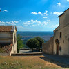Fiesole, Italy – View of Florence – In the distance, you can see Florence.  Not a sole in sight.  A perfect afternoon of exploration in the Tuscan region.