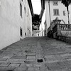 Fiesole, Italy – Side Street -  I do not know why this side street was calling me.  I've heard that angles are all around us whispering in our ears.  This side street lead me to some beautiful overlooks of Florence and to the monastery of San Francisco where I spent most of my time in Fiesole. Thank you to the one that told me to walk up this hill.