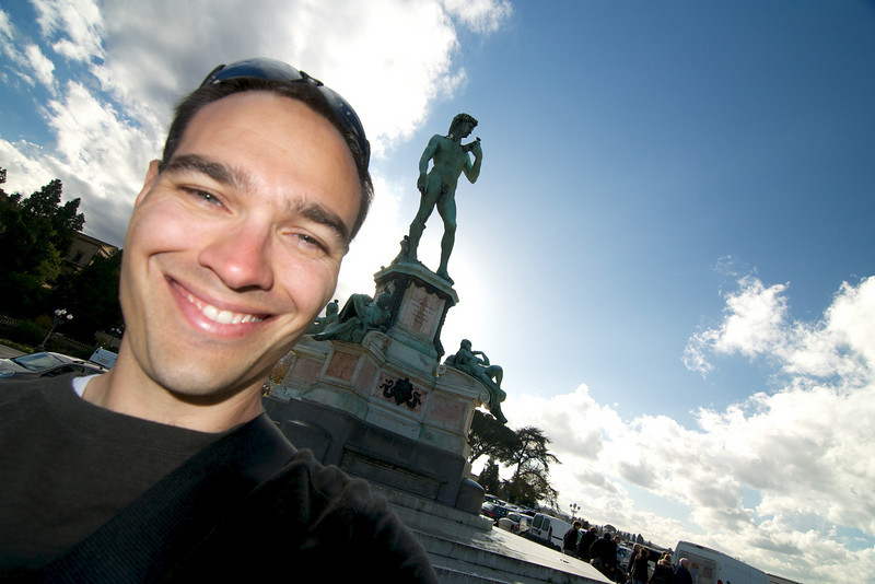 Michelangelo di Piazza in Firenze, Italia (November 2010)
