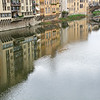 Reflections on the River Arno, Florence
