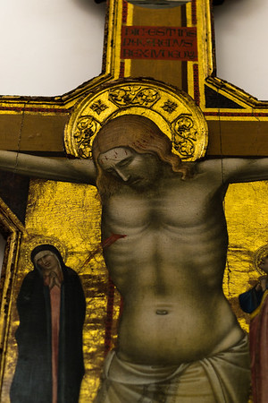 Bernardo Daddi's Crucifix