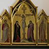 Crucifixion and Saints Nicholas, Bartholomew, Florentius, and Luke