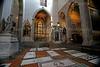 Bardi Chapel with Crucifix by Donatello