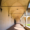 Colonnade at the Second Cloister